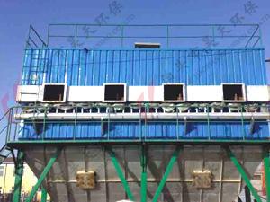 BMC型分室外侧喷反吹风扁袋除尘器